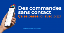 PIZZLI: une application québécoise à l'écoute des restos et des épiceries de quartier