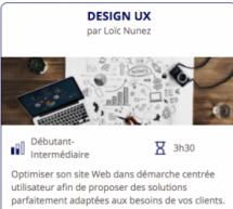 Formation : Design UX