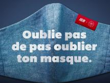 IGA refait appel à Bleu Jeans Bleu et Sid Lee pour inciter au port du masque