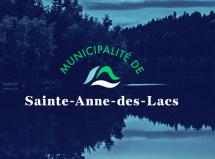 Erod renouvelle l'image de la Municipalité de Sainte-Anne-des-Lacs