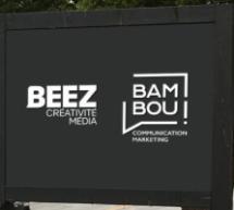 Bambou Communication Marketing et Beez Créativité Média deviennent colocataires