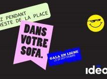 Nicolas Ouellet à l'animation du Concours Idéa