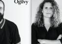 Julie Gélinas et Sébastien Legault arrivent dans l'équipe design d'Ogilvy