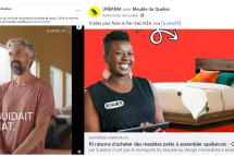 L'Association des fabricants de meubles du Québec s'expose sur Urbania pour promouvoir l'achat local