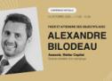Parkour3 organise une conférence avec Alexandre Bilodeau le 14 octobre