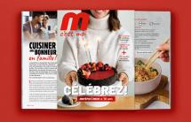 EDIKOM signe le nouveau magazine «M c'est moi» de Métro