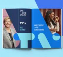 TVA dévoile sa marque actualisée