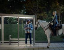 Lg2 et Bell reviennent (à cheval) avec Marie-Mai