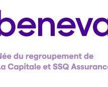 Lg2 derrière l'image de marque de la nouvelle mutuelle Beneva