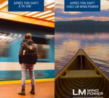 LM Wind Power fait appel à Bombes Créatives et à Mobux pour sa campagne de recrutement