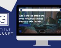 L'agence Treize derrière le nouveau site web de l'Institut Grasset