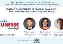Étude Jeunesse Léger : à quoi ressemble les influenceurs canadiens?