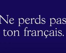 Une première campagne marquante pour la Fondation pour la langue française signée lg2