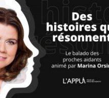 Wink Stratégies réalise le nouveau balado de L'Appui pour les proches aidants animé par Marina Orsini