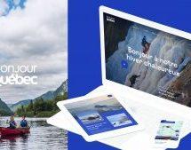 Une nouvelle plateforme numérique Bonjour Québec, créée en collaboration avec lg2