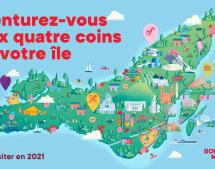 La campagne « L'île à visiter en 2021 » met de l'avant l'exotisme en ville