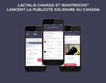 Lactalis Canada devient Membre Fondateur de la communauté WhatRocks™