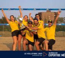 Un montant record de 27 000 $ amassé pour la 12e édition du Volleybec