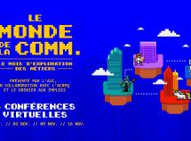 La série de conférences de l'A2C «Le monde de la comm.» est de retour