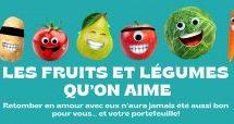 Atypic signe la nouvelle campagne pour le Mouvement J'aime les fruits et légumes