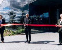 lg2 inaugure son nouveau siège dans l'écoquartier du Technopôle Angus