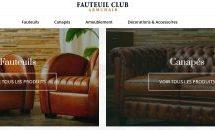 My Little Big Web signe la refonte du site Web de l'entreprise Fauteuil Club